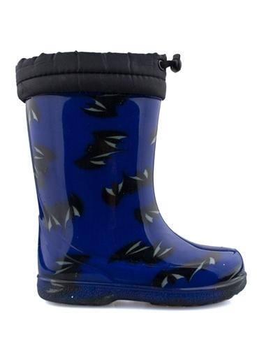 Cicibebe Batman Erkek Çocuk Yağmur Çizmesi Lacivert
